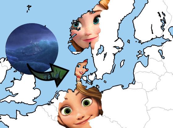 Mapa Frozen Sirenita